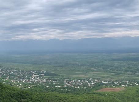 Georgia's Garden of Eden--the Alazani Valley