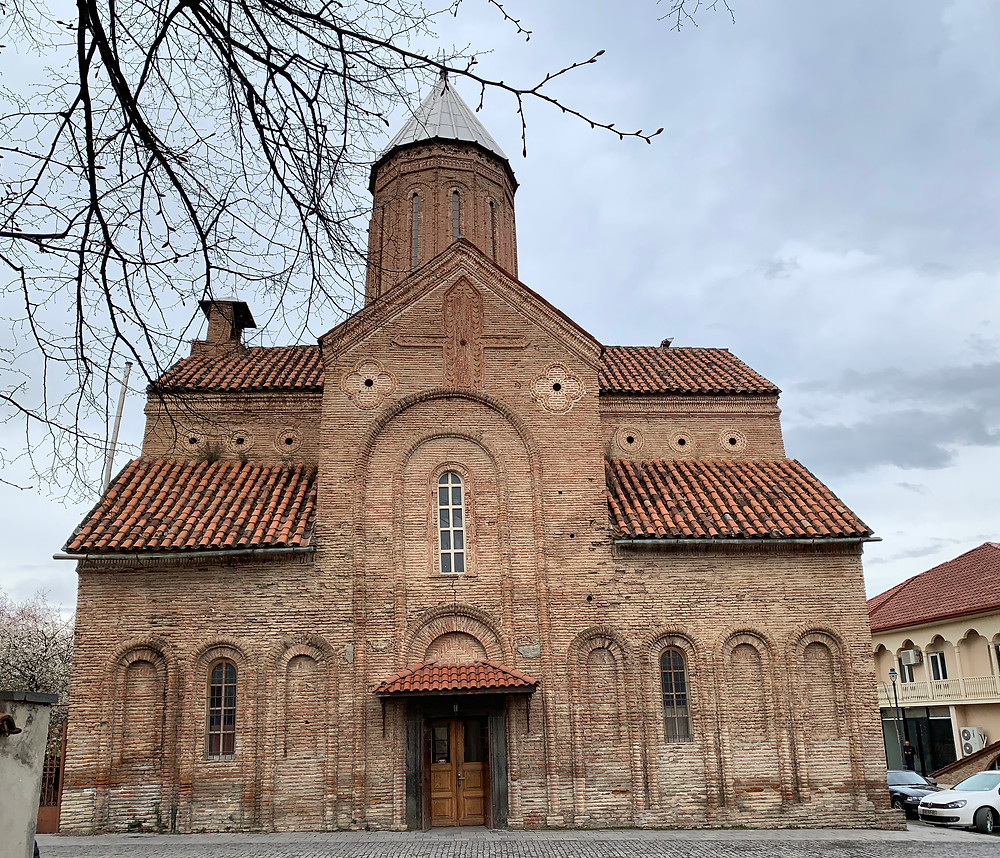 A traditional Georgian church in Telavi.