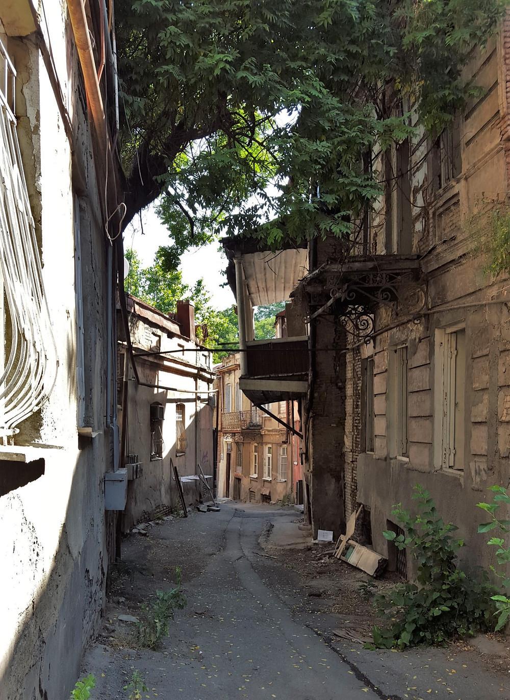 Tbilisi street, Georgia country