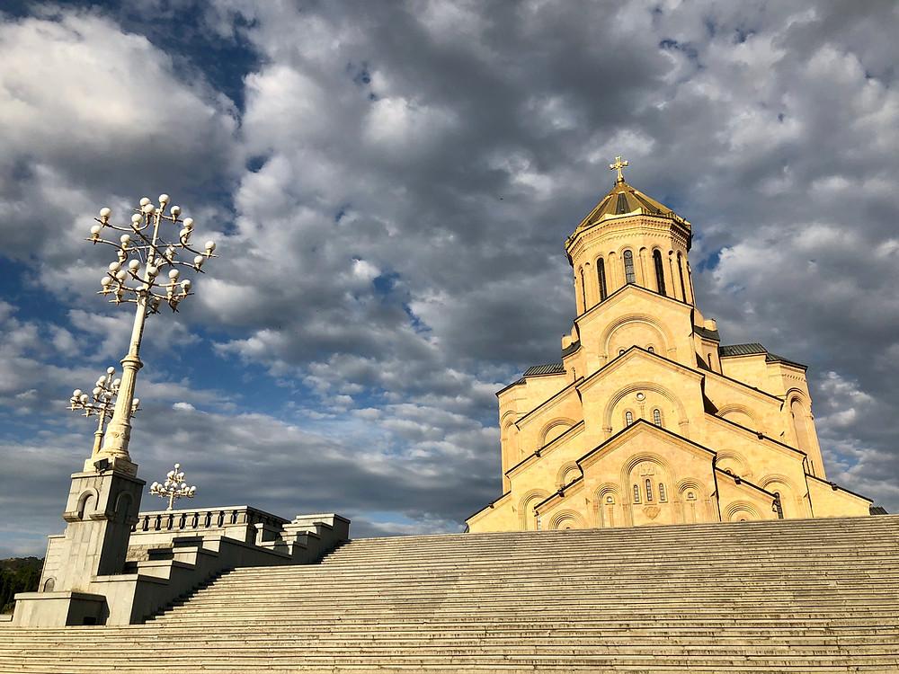 Tbilisi Sameba Cathedral, Tbilisi.
