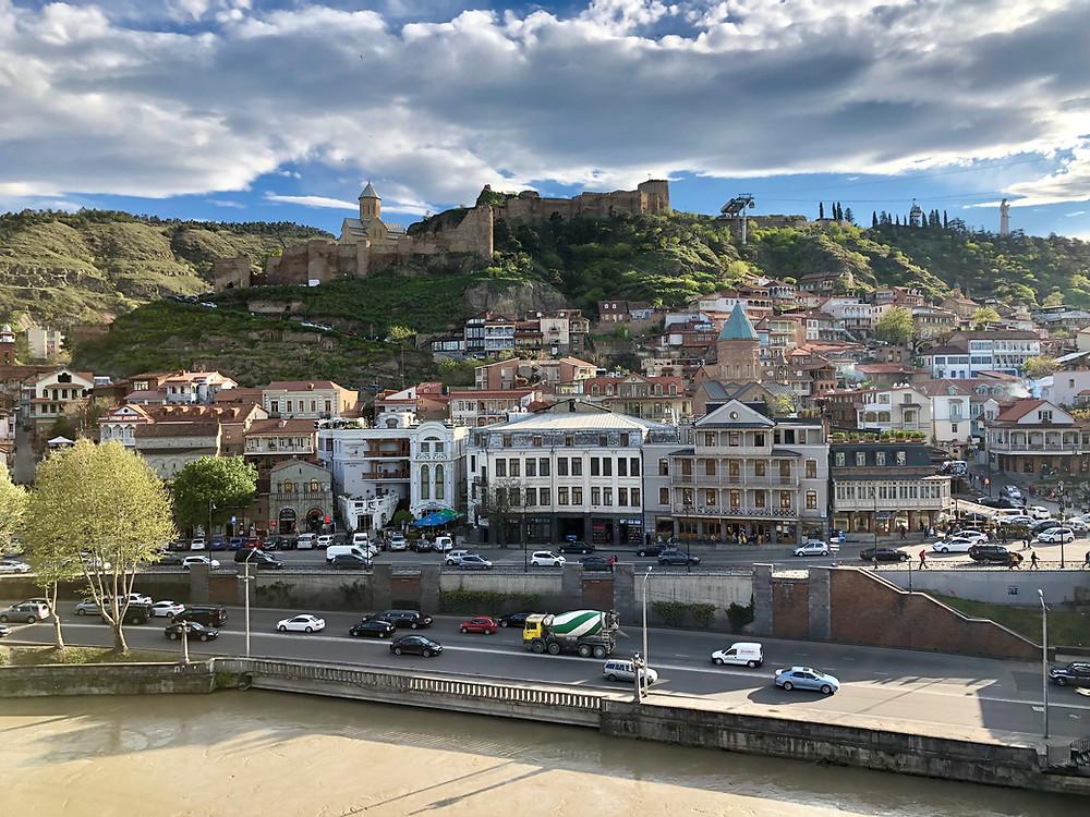 Narikala Fortress, Old Tbilisi, Tbilisi, Georgia country