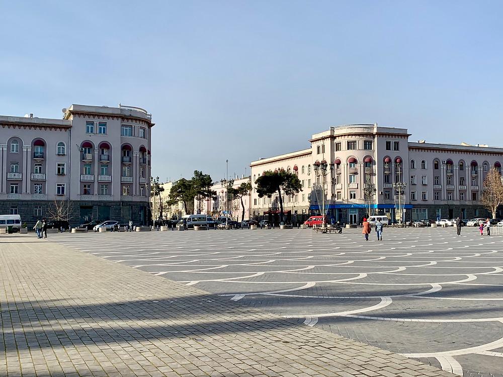 Liberty Square in Rustavi