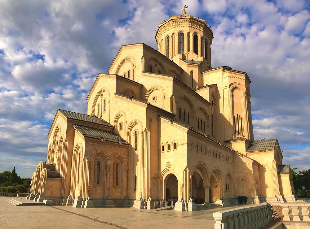 Tbilisi Sameba Cathedral, Tbilisi, Georgia