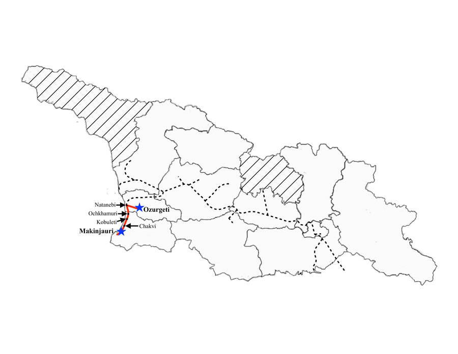 Ozurgeti to Batumi