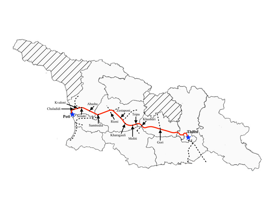 Tbilisi to Poti (Fast)