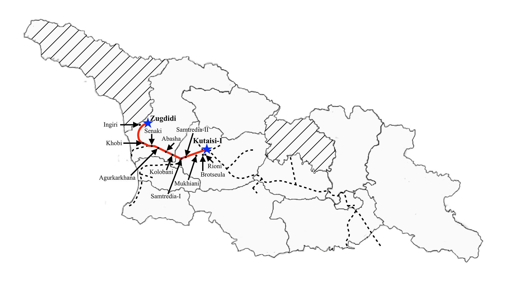Zugdidi to Kutaisi I