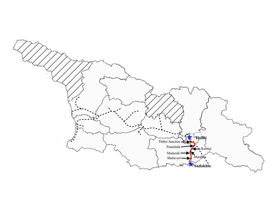 Sadakhlo to Tbilisi