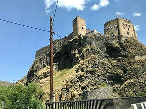 Khertvisi Fortress in Samtskhe-Javakheti, Georgia