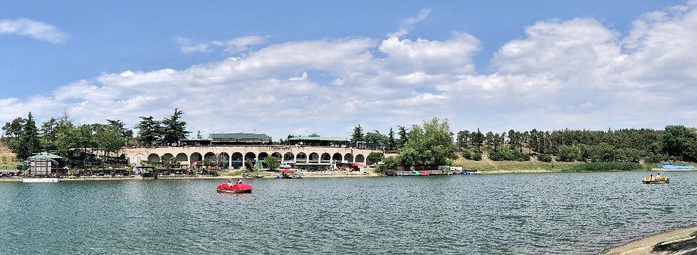 Turtle Lake in Vake Park in Tbilisi, Georgia