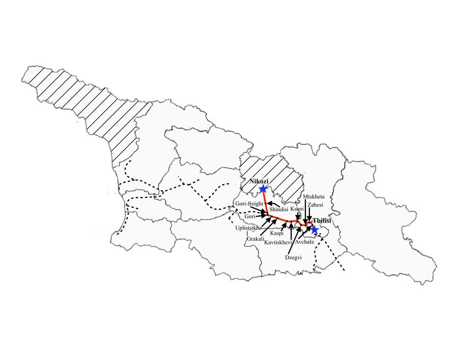 Nikozi to Tbilisi
