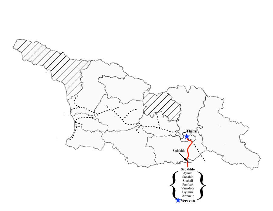 Yerevan to Tbilisi