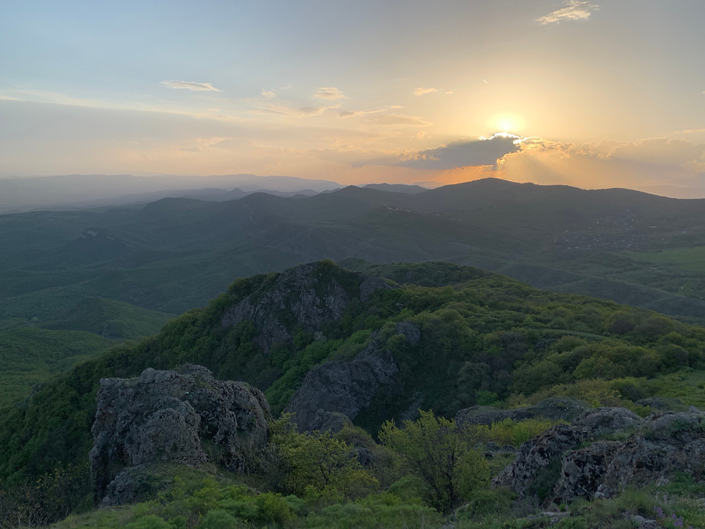 The Teleti Range in Kojori, on the outskirts of Tbilisi