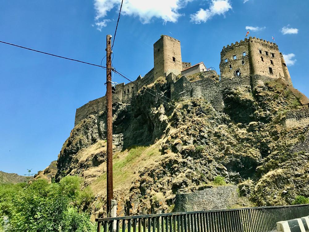 Khertvisi Fortress ხერთვისის ციხე