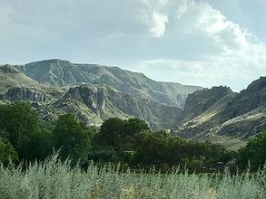 The Armenian Highlands in the region Samtskhe-Javakheti.