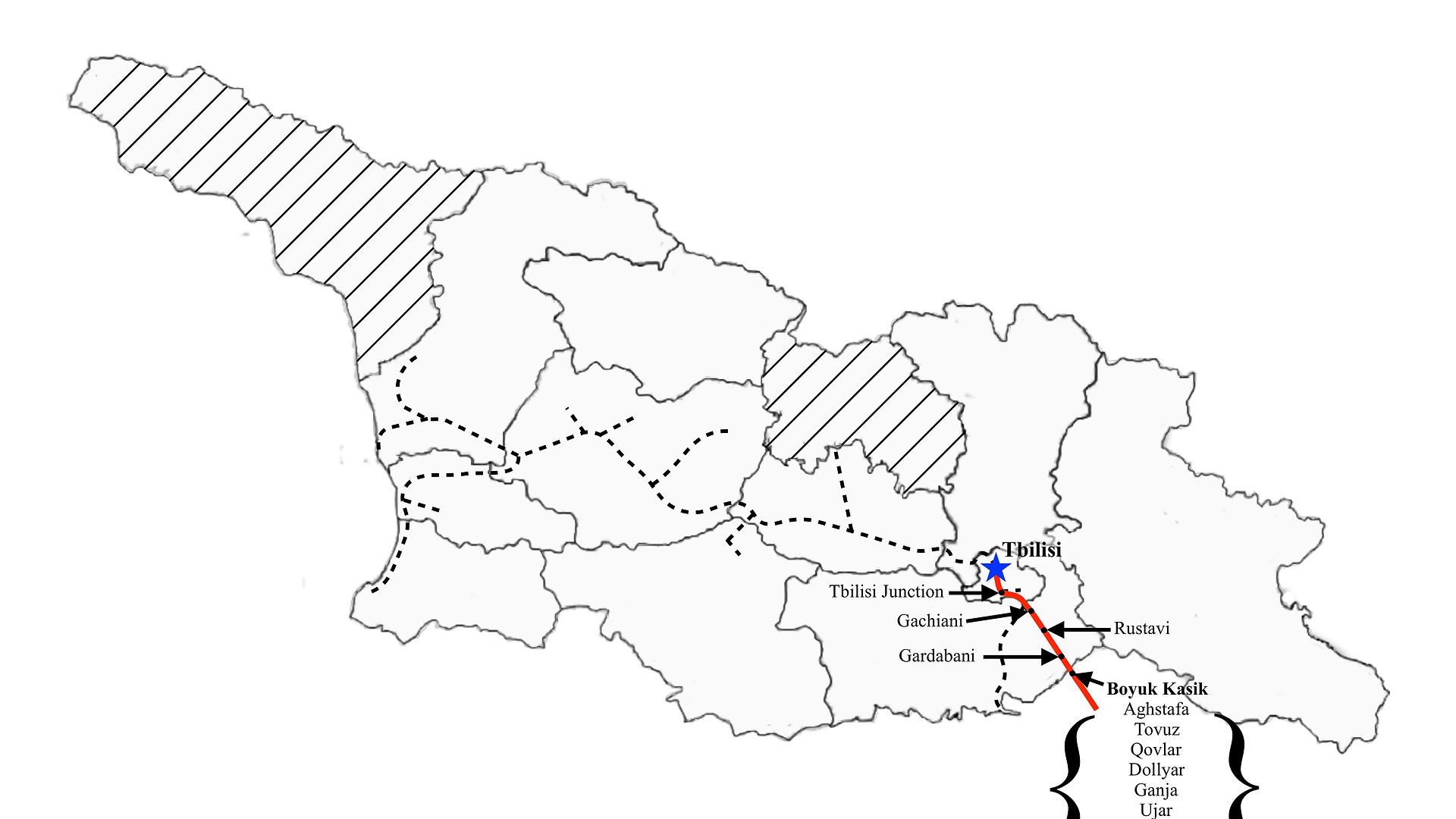 Tbilisi to Baku
