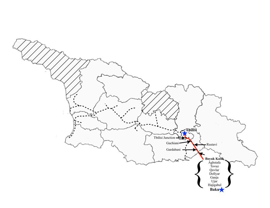 Baku to Tbilisi