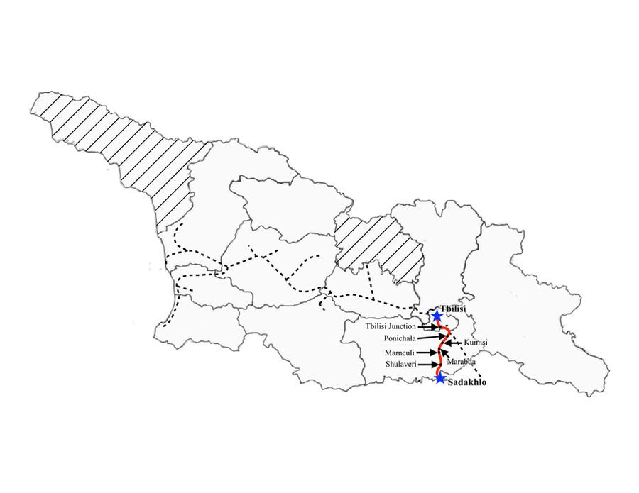 Tbilisi to Sadakhlo