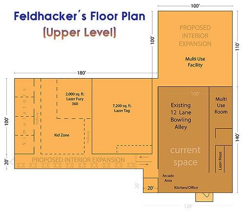 Feldhacker Upper Level Plans