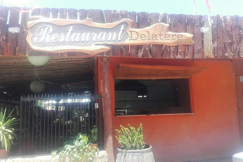 Restaurant Delatere Pisco Elqui