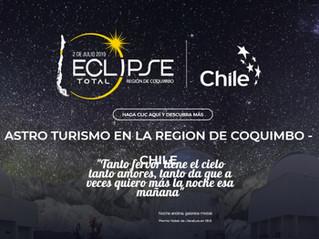 Eclipse 2019 Región de Coquimbo en www.Astroturismochile.travel