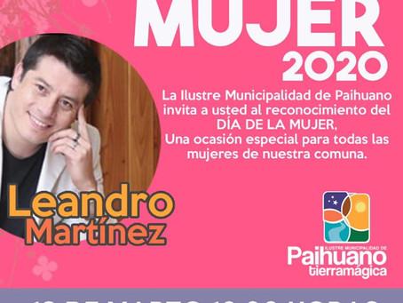 Día de la Mujer 2020 en Paihuano