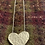 Thumbnail: Dimple hammered heart