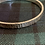 Thumbnail:  Large 6mm  lined hammered textured Bangle