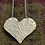 Thumbnail: Hammered  heart necklace