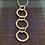 Thumbnail: 3 Circle Hammered  pendant