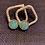 Thumbnail: Turquoise stud earrings