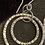Thumbnail: Large and small  hammered earrings