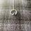 Thumbnail: Circle pendant with turquoise stone