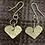 Thumbnail: Love heart earrings
