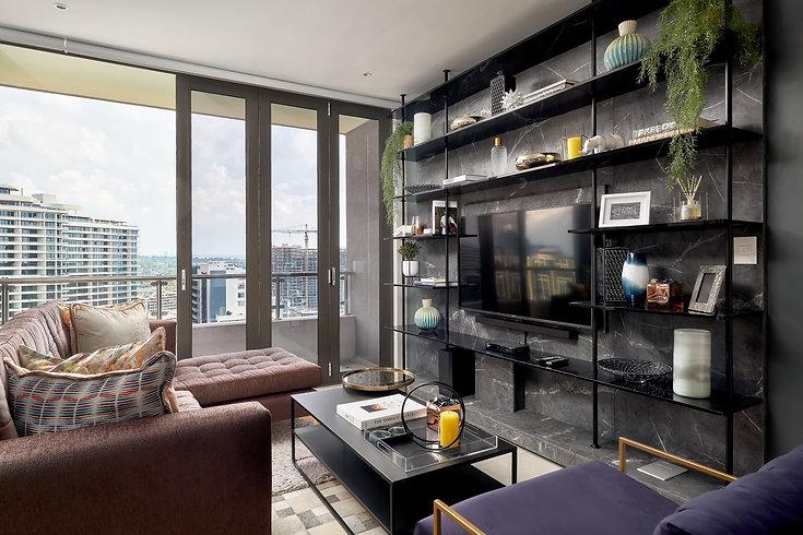 Masingita Towers Apartment Interior Design by Zing Design