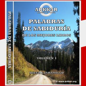 LIBRO PALABRAS DE SABIDURÍA DE LOS MEJORES LIBROS VOLUMEN I