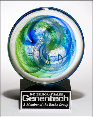 Artistic Glass Trophy