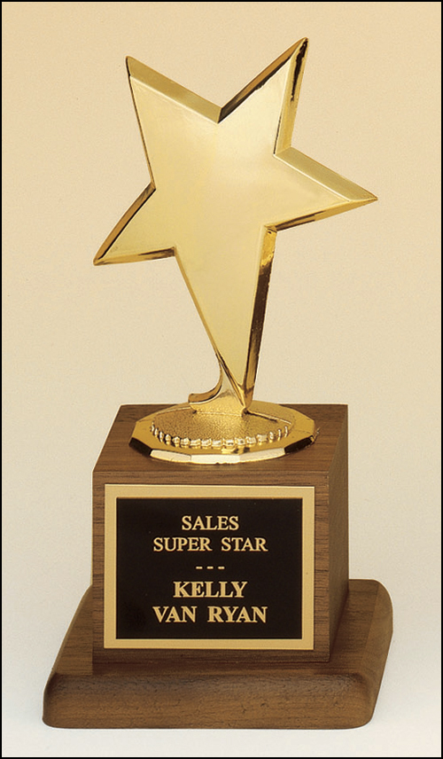 Star-Shaped Trophy