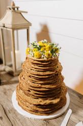 Chocolate Chip Cookie Wedding Cake