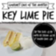 Gourmet Cake of the Month - key lime pie