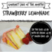 Gourmet Cake of the Month- strawberry le