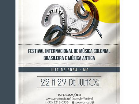 29. Festival Internacional de Música Colonial Brasileira e Música Antiga