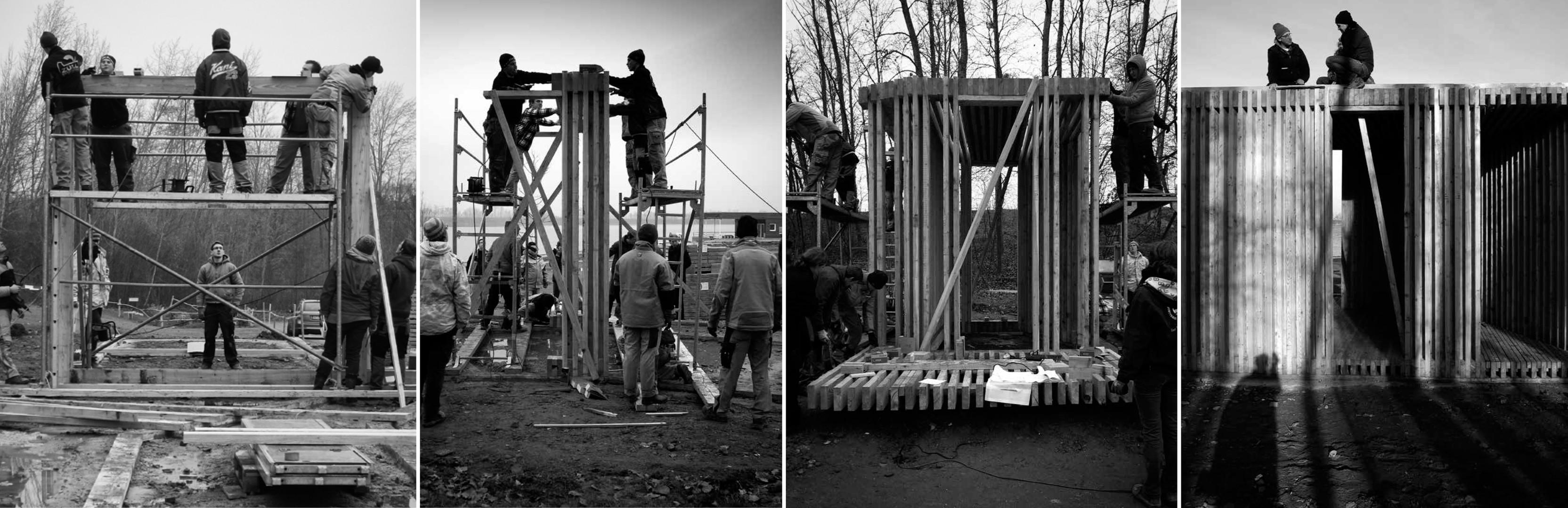 Bau durch der Studiernende TH Köln / Lehrlinge Thomas Esser Berufskolleg