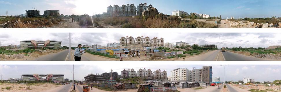 Panoramen 1, Apartmentsiedlung - 2005, 2007, 2009