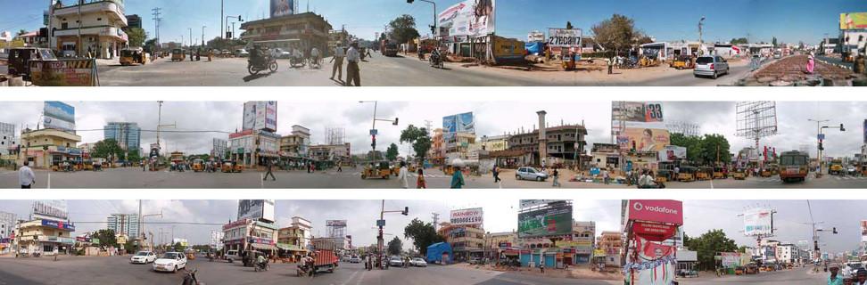 Panoramen 3, Entwicklung eines ehemaligen Dorfes - 2005, 2007, 2009