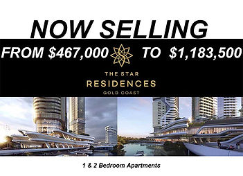 The Star Residences off plan sale broadbeach island