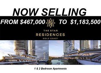 The Star Residences off plan sale broadbeach island