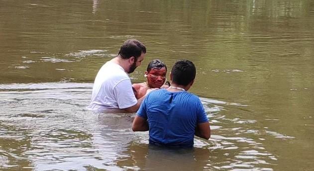 Batismo em Budu-U
