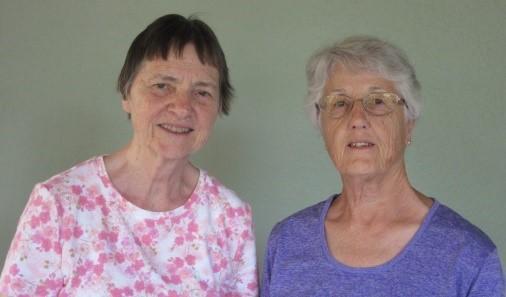 Carol James e Carolina Swain