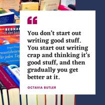 Octavia Butler quote