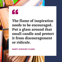 Mary Higgins Clark quote